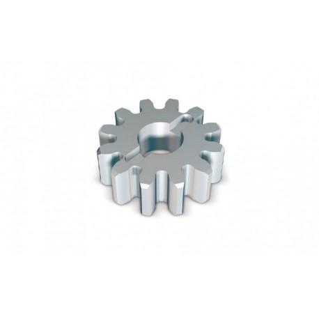 RUA12 NICE Corona a 12 denti, modulo 6, da abbinare alla cremagliera ROA81