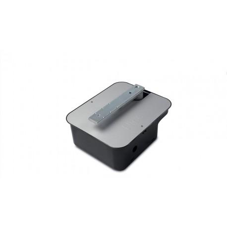 M-FAB HS NICE Irreversibile 24 Vdc, veloce, con encoder magnetico, completo di leva di collegamento e fermo meccanico