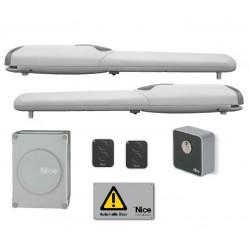 WINGOKCE/A60 NICE WINGOKIT Kit per l'automazione di cancelli a battente con ante fino a 2 m