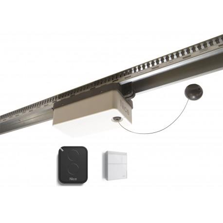SPY550KCE NICE SPYKIT 500 Kit per l'automazione di porte sezionali e porte basculanti, 550 N, guide non incluse