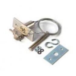 KI1 NICE Kit di sblocco dall'esterno con cordino metallico e nottolino a chiave