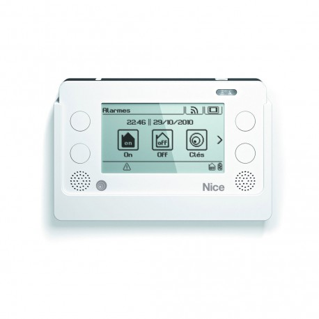 HSTS2IT NICE Tastiera wireless Touch Screen Bidirezionale con Centrale d'allarme HSCU2