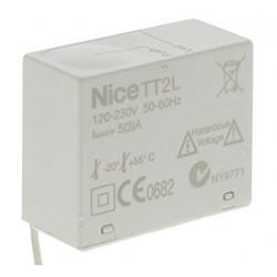 TT2L NICE Centrale per il comando di impianti di illuminazione 230 Vac,con ricevitore radio integrato