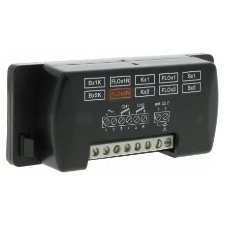 FLOX2R NICE Ricevitore universale, 2 canali con memoria BM250