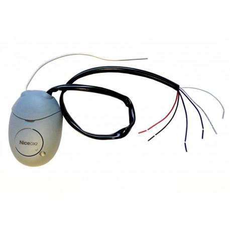 OX2 NICE Ricevitore 2 canali, senza trasmettitore incorporato