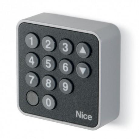 EDSB NICE Selettore digitale 12 tasti con tecnologia Nice BlueBUS, scocca metallica antieffrazione