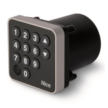 EDSIB NICE Selettore digitale 12 tasti con tecnologia Nice BlueBUS, da incasso, scocca metallica antieffrazione