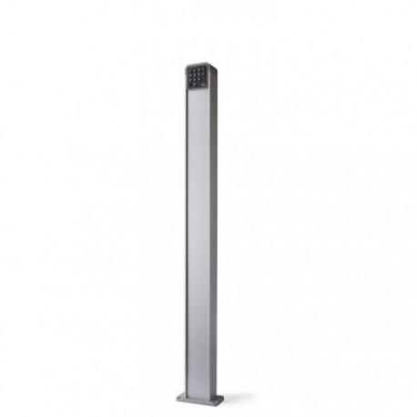 PPK NICE Colonna in alluminio con alloggiamento per un selettore, h 1100 mm