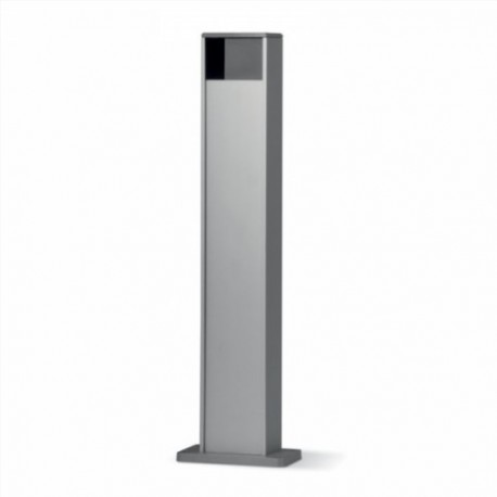 PPH1 NICE Colonna in alluminio con alloggiamento protetto per 1 fotocellula taglia Medium e Large - h 500 mm