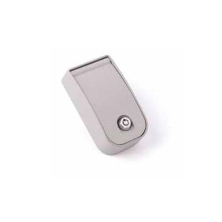 KIOMINI NICE Blindino in alluminio con pulsante di comando e sblocco