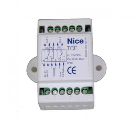 TCE NICE Interfaccia di controllo per bordo sensibile