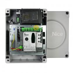MC424L NICE MOONCLEVER Centrale di comando per uno o due motori a 24 V senza encoder, predisposta per Solemyo