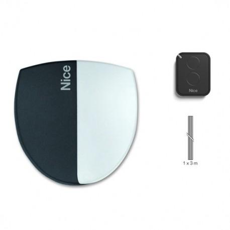SPIN21KCE NICE SPINBUSKIT Kit per l'automazione di porte sezionali fino a 10,50 mq e basculabnti fino a 11,80 mq