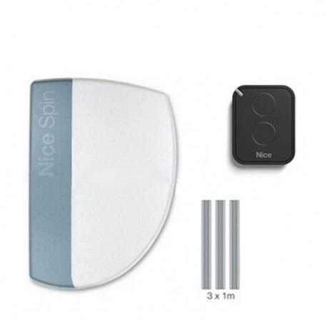 SPIN10KCE NICE SPINKIT Kit per sezionali fino a 8,8 mq e basculanti fino a 9,8 mq