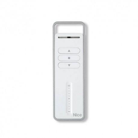 P1V NICE Trasmettitore portatile per il controllo di 1 gruppo di automazioni o 1 sistema di carichi elettrici