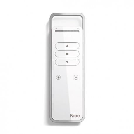 P1S NICE Trasmettitore portatile, attiva un gruppo di automazioni, con tasti Sole On e Sole OFF