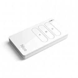 MW1 NICE Trasmettitore portatile, attiva 1 automatismo apre-stop-chiude in modalità singola o multigruppo