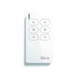 MW2 NICE Trasmettitore portatile, attiva 2 automatismi apre-stop-chiude in modalità singola o multigruppo