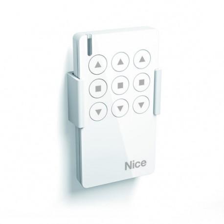 MW3 NICE Trasmettitore portatile, attiva 3 automatismi apre-stop-chiude in modalità singola o multigruppo