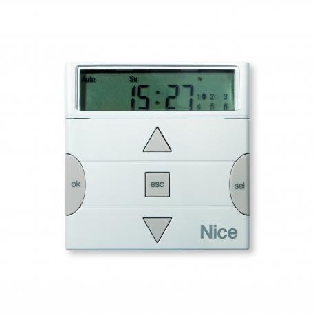 ERATIME NICE Programmatore orario a parete via radio con display LCD