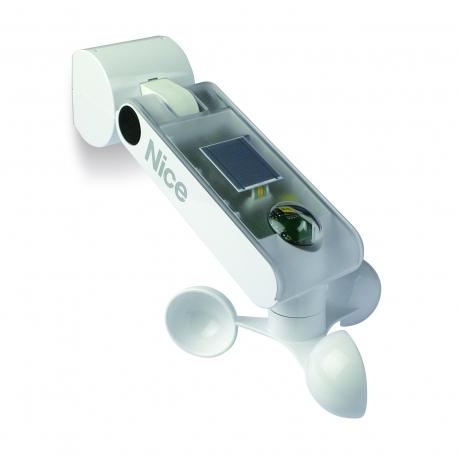 NEMO WSRT NICE Sensore Vento-Sole-Pioggia, via radio, con alimentazione da rete elettrica