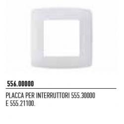 556.00000 NICE Placca per interruttori 555.30000 e 555.21100