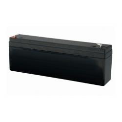 B12V-C NICE Batteria piombo 12 V (2,2 Ah) necessaria per BackUp della sirena, per HSSOC