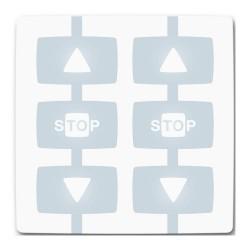 WM002G Modulo per il comando di 2 automatismi Apre-Stop-Chiude in modalità singola o multigruppo