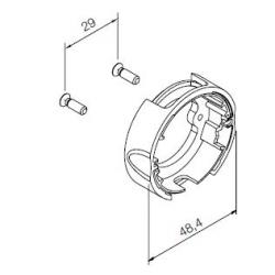 533.10010 NICE Kit Supporti serie Era S taglia Ø 35 mm Supporto compatto