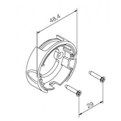 533.10011 NICE Kit Supporti serie Era S taglia Ø 35 mm Supporto compatto