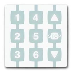WM006G NICE NICEWAY Modulo per il comando di 6 gruppi di automatismi Apre-Stop-Chiude in modalità singola o multigruppo