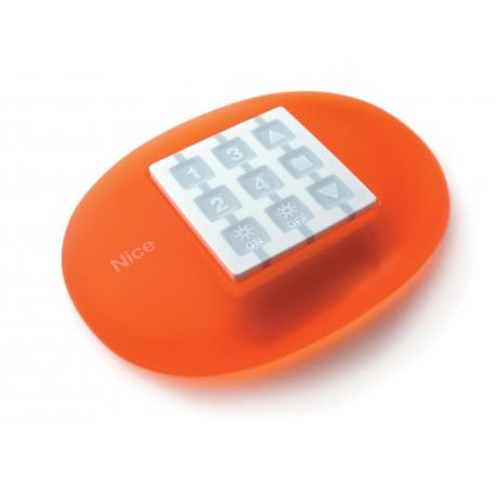 WEO NICE STONE Supporto antiurto da tavolo, arancione