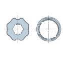 515.06000 NICE Adattatori serie Era M taglia Ø 45 mm Ottagonale 60x(0,6÷1)