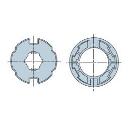 515.17800 NICE Adattatori serie Era M taglia Ø 45 mm Ogiva 78x(1÷1,5)