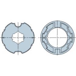 515.17802 NICE Adattatori serie Era M taglia Ø 45 mm Ogiva 80x2