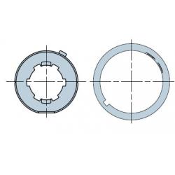 515.25004 NICE Adattatori serie Era M taglia Ø 45 mm Tondo con nervature e con linguetta