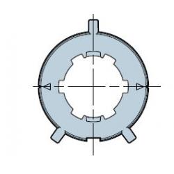 515.25005 NICE Adattatori serie Era M taglia Ø 45 mm Tondo 50x2