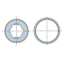 515.25006 NICE Adattatori serie Era M taglia Ø 45 mm Tondo 50x(1,3÷1,5)
