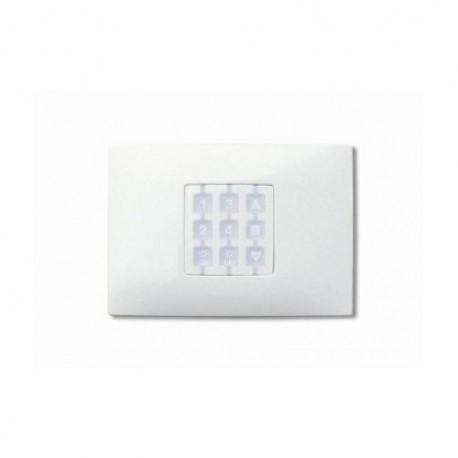 WRW NICE OPLA Placca a parete rettangolare, bianco