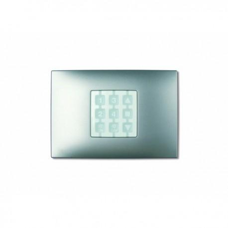 WRA NICE OPLA Placca a parete rettangolare, alluminio